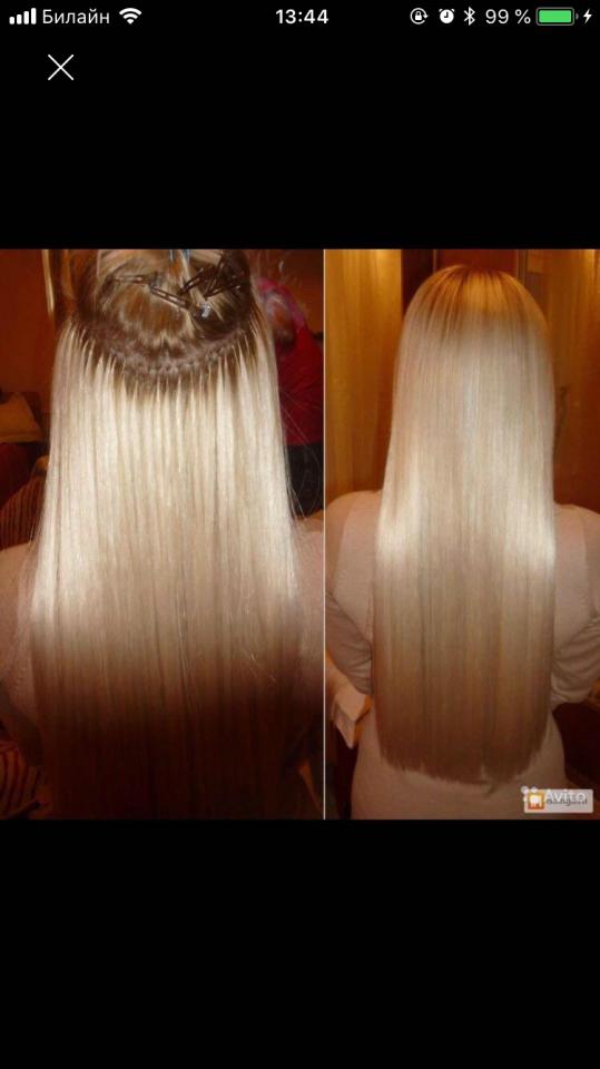 делаю голивудское наращивание волос  | фото 1 из 3
