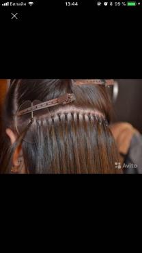 делаю голивудское наращивание волос  | фото 2 из 3