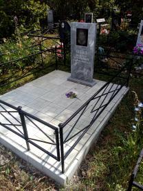 Благоустройство мест захоронений | фото 3 из 6