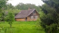 Живописный жилой хуторок у ручья и хвойного леса, дом, баня, 2 Га. земли
