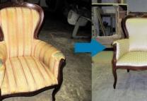 Ремонт и Перетяжка мягкой мебели | фото 2 из 6