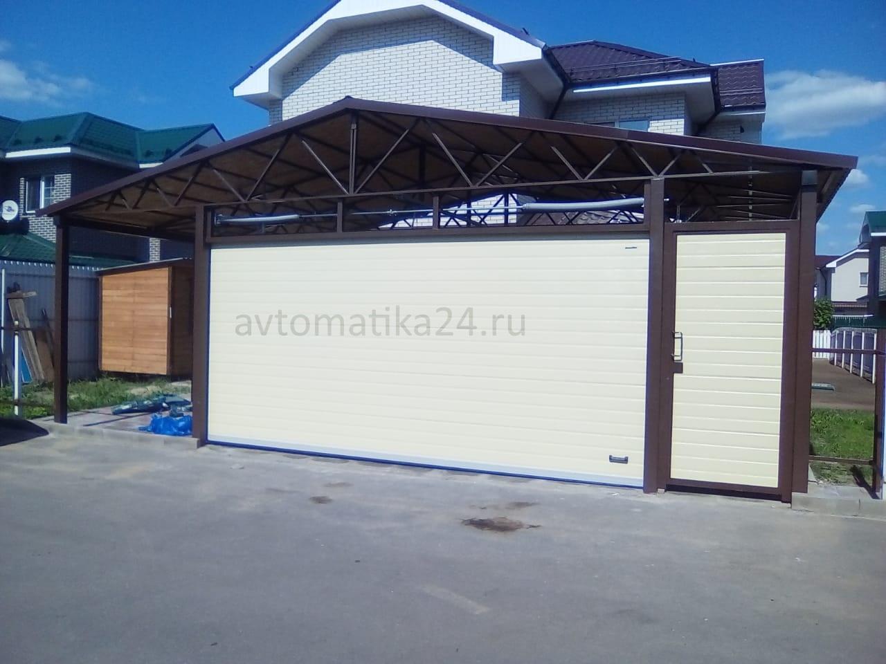 ворота в гараж   фото 1 из 1
