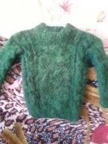 пуховые вязанные детские свитера | фото 6 из 6