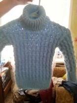 пуховые вязанные детские свитера | фото 2 из 6