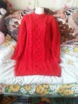 вязанные платья ручного вязания