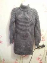 вязанные платья ручного вязания | фото 6 из 6