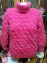 пуховые свитера