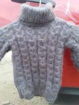 пуховые вязанные детские свитера | фото 4 из 6