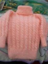 пуховые вязанные детские свитера | фото 3 из 6