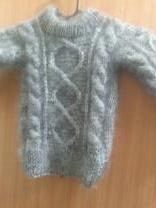 пуховые вязанные детские свитера | фото 5 из 6