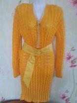 вязанные платья ручного вязания | фото 5 из 6