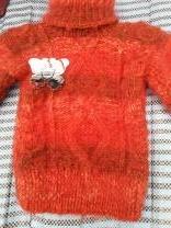 пуховые вязанные детские свитера