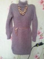 вязанные платья ручного вязания | фото 2 из 6