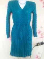 вязанные платья ручного вязания | фото 3 из 6