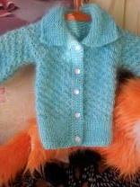 детское вязанные пуховые кофты | фото 4 из 6