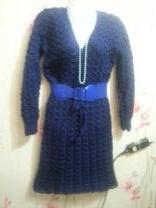 вязанные платья | фото 5 из 6
