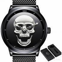 Мужские часы с 3D черепом   фото 2 из 2