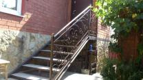 кованые ворота, перила, заборы, ограждения, навесы | фото 6 из 6