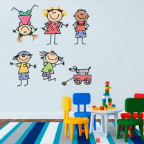 Виниловые наклейки в детскую или детям | фото 2 из 4