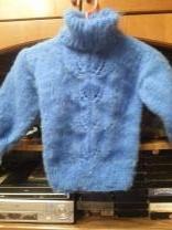 шерстяной пуховый свитер | фото 2 из 2