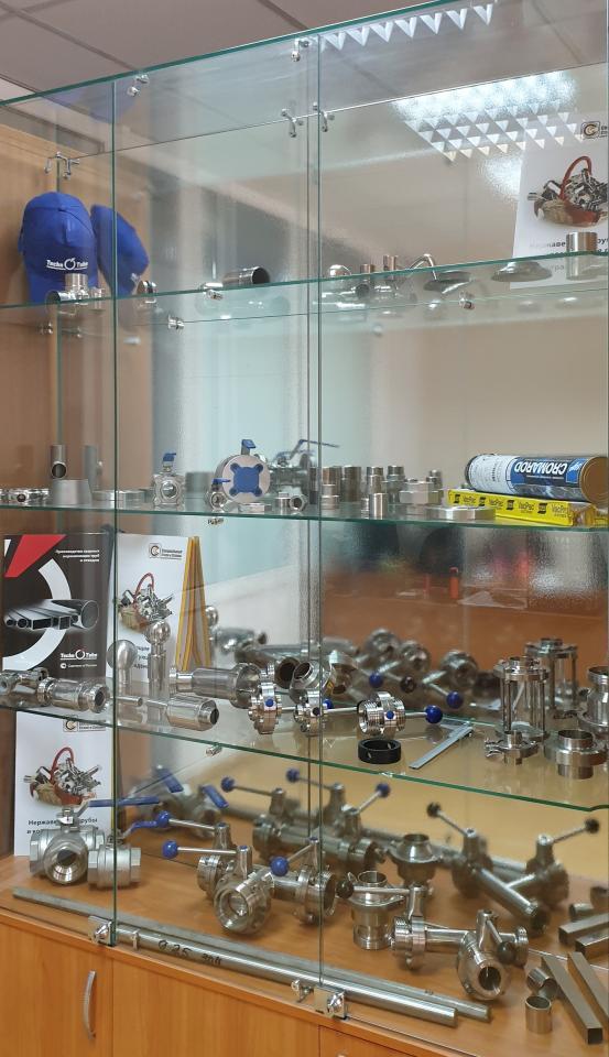 Нержавеющие трубы, запорная и соединительная арматура, листовой и сортовой прокат   фото 1 из 3