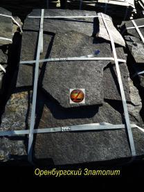 Природный камень-плитняк. Златолит   фото 4 из 4