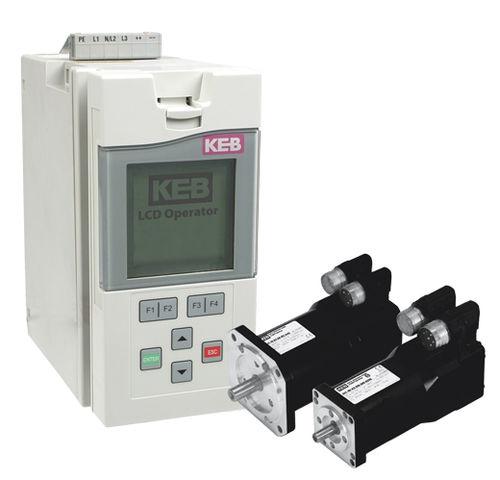 Ремонт KEB COMBIVERT F4 F5 Basic Compact B6 G6 R6 C5 S4 F4C F4F R4 F5-A частотных преобразователей | фото 1 из 1