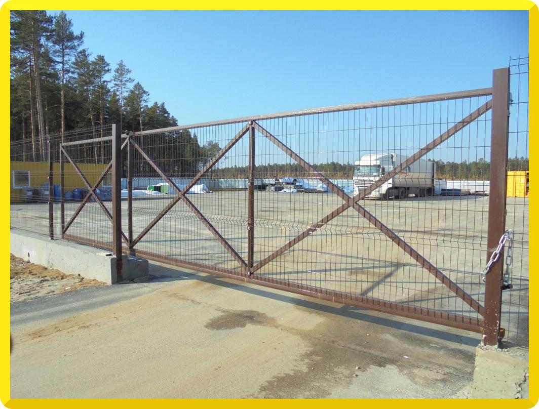 Ворота Откатные  | фото 1 из 3