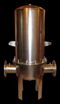 Промышленный фильтр нержавеющая сталь для очистки воды, смесей
