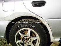 Ремонт сквозной ржавчины кузова авто без сварки | фото 4 из 6