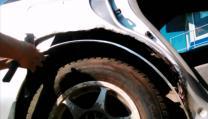 Ремонт сквозной ржавчины кузова авто без сварки | фото 2 из 6