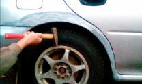 Ремонт сквозной ржавчины кузова авто без сварки | фото 3 из 6
