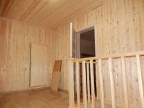 Отделочные работы в частном доме, бане Красноярска.