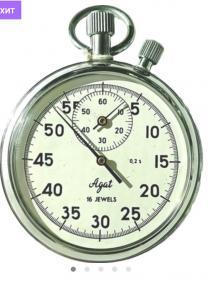 Механический противоударный секундомер