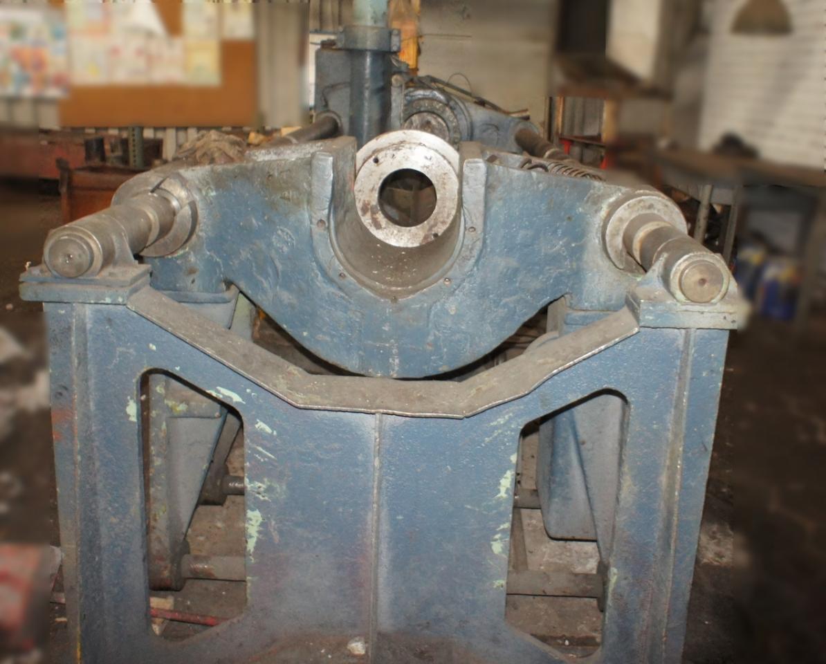 горизонтальный гидравлический пресс для колесных пар | фото 1 из 1