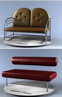 Мягкие скамьи, банкетки и диванчики. | фото 3 из 6