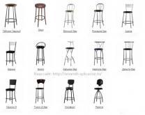 Барные стулья и табуреты, модели готовые и на заказ.