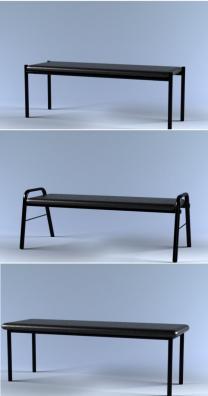 Мягкие скамьи, банкетки и диванчики. | фото 2 из 6