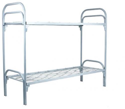 Трехъярусные кровати для хостелов из металла | фото 1 из 6