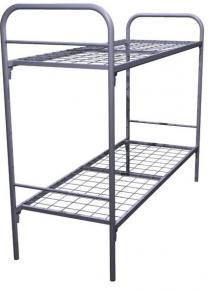 Трехъярусные кровати для хостелов из металла | фото 3 из 6