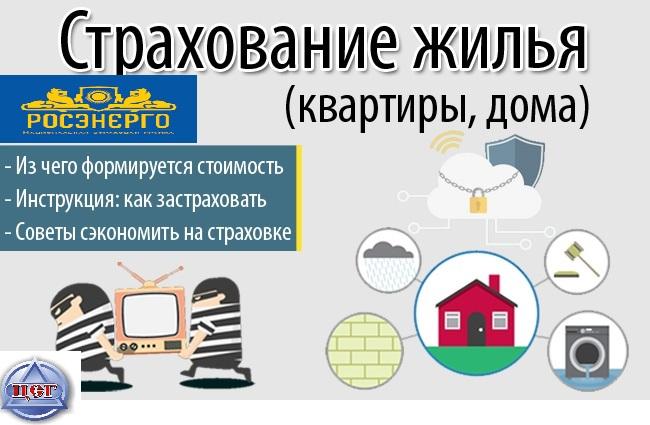 Страхование квартиры, гражданской ответственности   фото 1 из 2