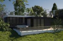 уютный дом построенный по современным технологиям