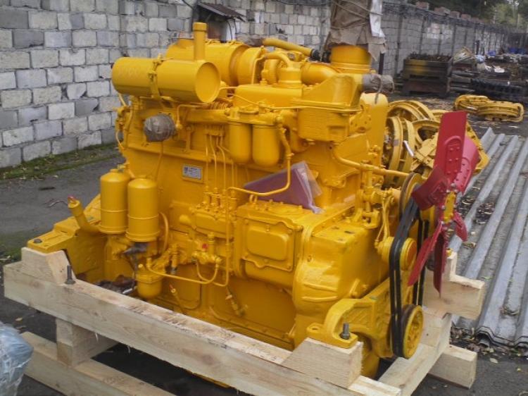 Двигатель Д-160/Д-180 на трактор (бульдозер) ЧТЗ Уралтрак Т-130,Т-170,Б-10.Из наличия.   фото 1 из 1