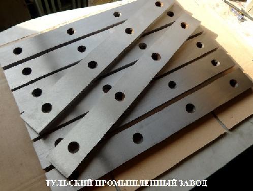 Продажа от производителя ножи гильотинные 510х60х20мм. Всегда в наличии ножи гильотинные из трёх видов стали. Отгрузка в день оплаты с завода производителя. | фото 1 из 1