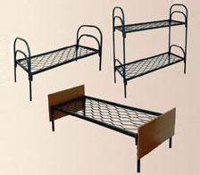 Мебель для рабочих, кровати металлические для детского сада | фото 1 из 6