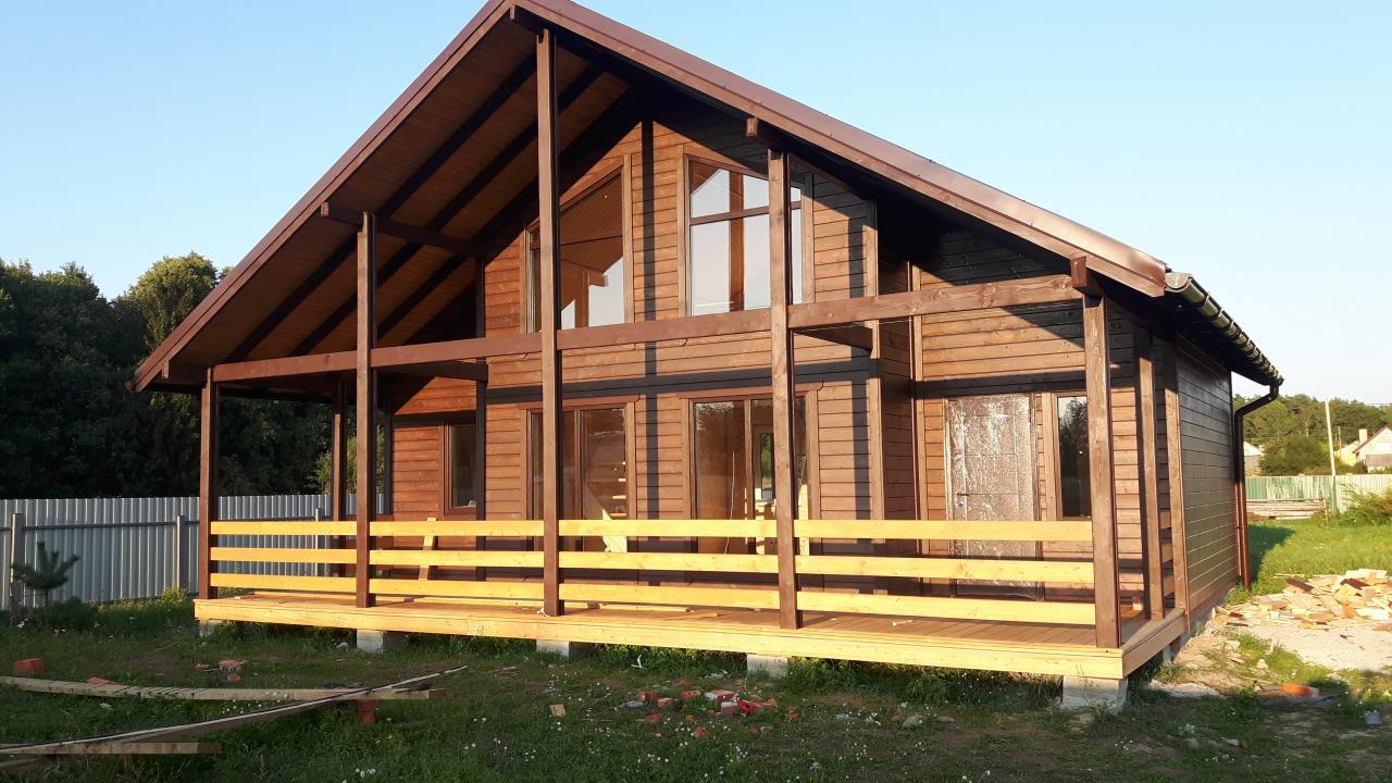 М.С.К.Дом Каркасное строительство домов Бань Беседки  | фото 1 из 4