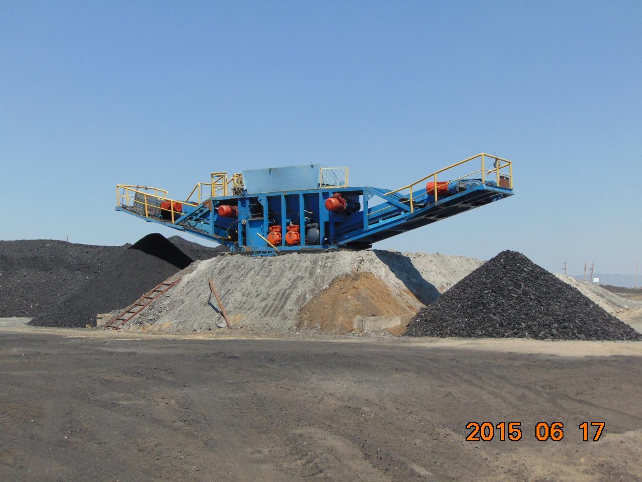 Мобильный погрузочно-складской комплекс Suptrior до 1000 тонн в час. | фото 1 из 6