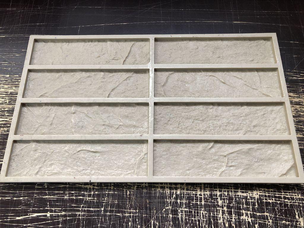 Форма для изготовления декоративного камня - кирпич Классик    фото 1 из 2