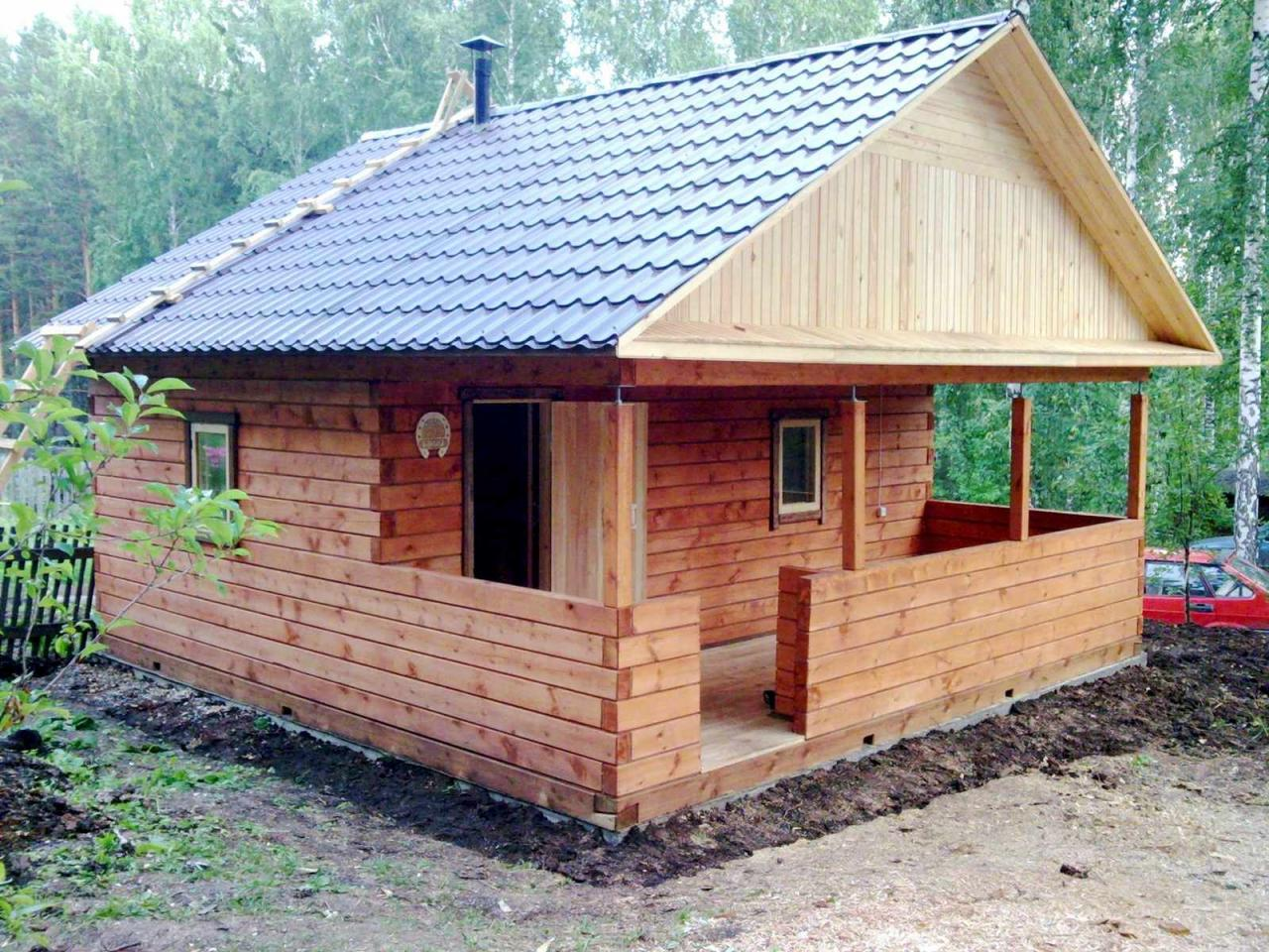 Загородный дома баня из бруса. Строительство отделка. Красноярск | фото 1 из 6