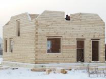 Загородный дома баня из бруса. Строительство отделка. Красноярск | фото 5 из 6